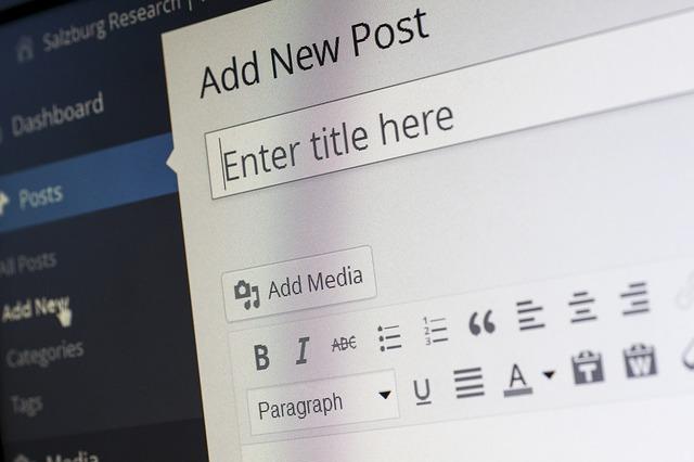Differenza tra pagina e post in Wordpress